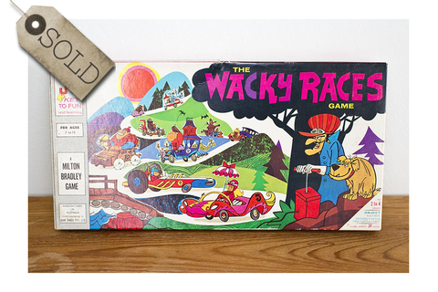 The Wacky Races board game | re:retro