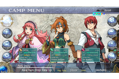 Ys: Memories of Celceta Free Game Download Full - Free PC ...