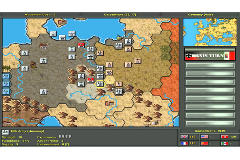 Strategic Command: ET [HD+] 001 Blitzkrieg - Let´s play ...