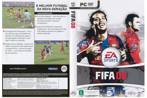 FIFA PC GAME: FIFA 2008 PC Full Version Download