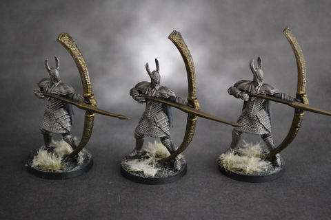 Silver Knights & Greatbowmen - Show Off - Reaper Message Board
