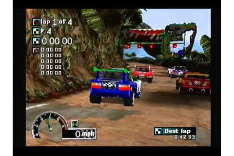 Rally Cross (PS1) - YouTube