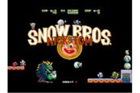 Snow Bros. Nick and Tom - MAME - TESTED and 100% WORKING ...