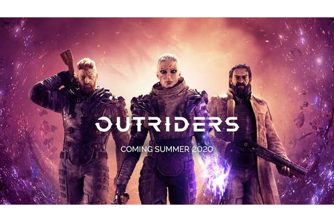 Outriders is a New Sci-Fi Game from Square Enix and People ...