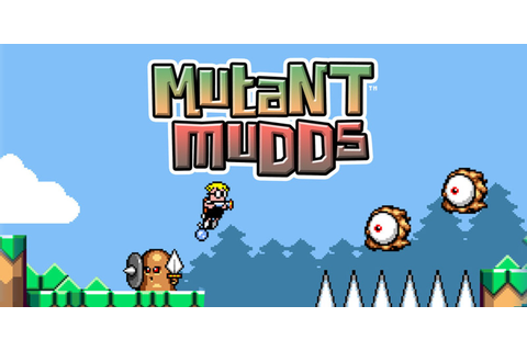 Mutant Mudds™ | Nintendo 3DS download software | Games ...