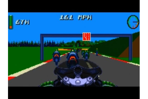 Kawasaki Superbike Challenge Game Review (Sega Genesis ...