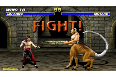 Mortal Kombat 3 Liu Kang Gameplay Playthrough - YouTube