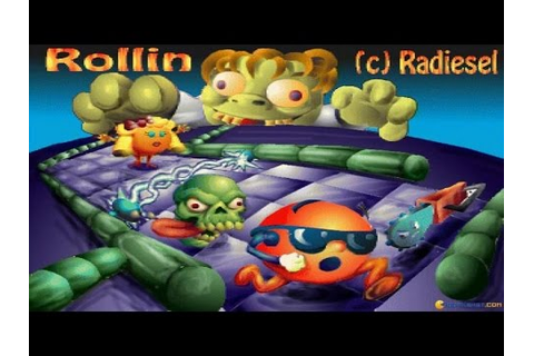 Rollin gameplay (PC Game, 1995) - YouTube