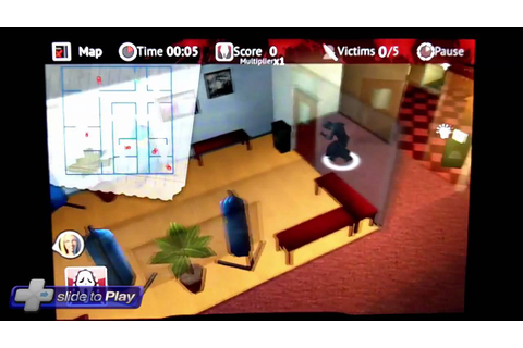 Scream 4 iPhone Game Hands-On Video - YouTube