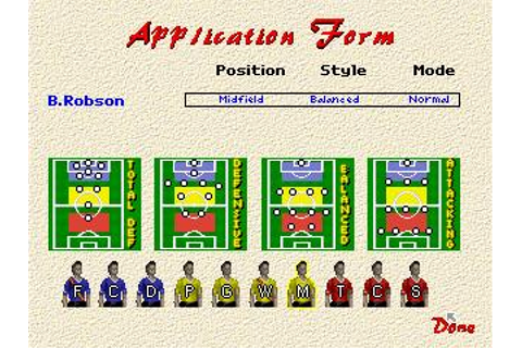Player Manager 2 Download (1995 Sports Game)