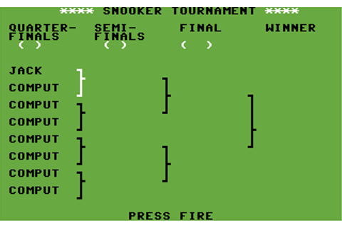 Download Championship 3D Snooker (Commodore 64) - My ...