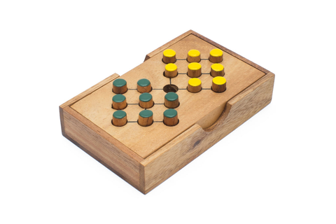 Battlefield - Adult Wooden Peg Puzzle with Free Shipping