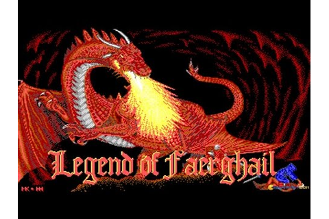 Legend of Faerghail gameplay (PC Game, 1990) - YouTube