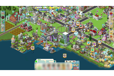 Old Facebook Games: Zynga's CityVille - YouTube