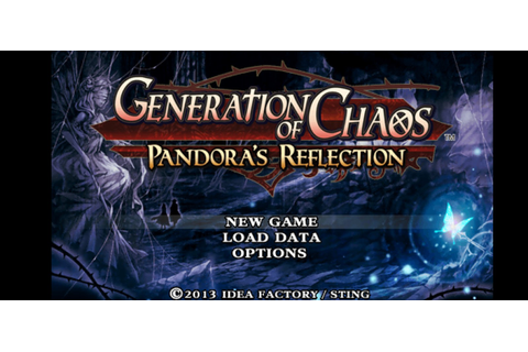 Generation of Chaos Pandora's Reflection PSP ISO PPSSPP ...
