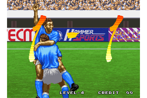 Tecmo World Soccer '96 - Videogame by Tecmo