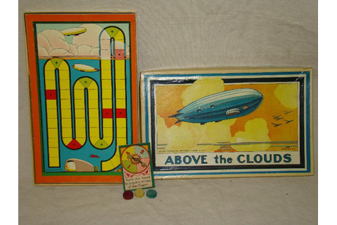 Above The Clouds Zeppelin Game