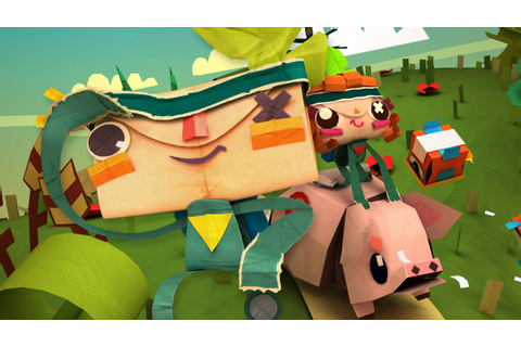 Gamescom 2014: Half of Tearaway Unfolded's Content Will Be ...