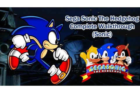 Sega Sonic The Hedgehog Arcade Complete Walkthrough (Sonic ...