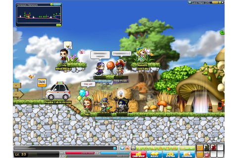 MapleStory - Online Anime Games
