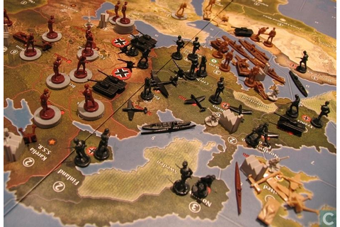 Axis & Allies Anniversary Edition Board Game
