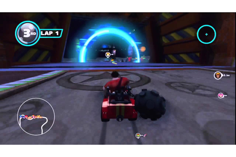 Sonic & All-Stars Racing Transformed - Wreck-It Ralph ...