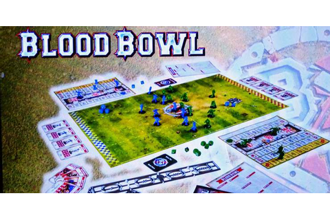 BLOOD BOWL - The New Game Revealed at Long Last! - Spikey Bits