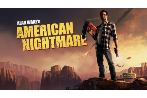 Video games terror alan wake american nightmare wallpaper ...