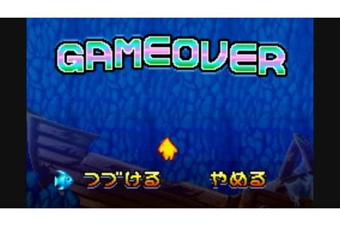 All Five (5) Game Over Screens in The Legendary Starfy ...