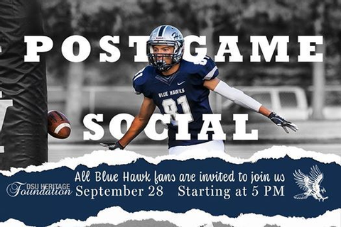 2019 Blue Hawk Post-Game Social at Dickinson Eagles Club ...