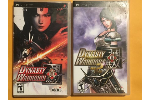 Dynasty Warriors Vol. 1 And 2 PSP Game | eBay