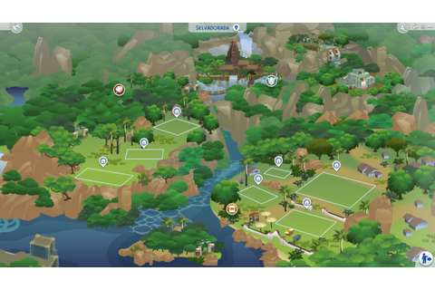 Mod The Sims - World of WIPs - All Neighbourhoods Bulldozed