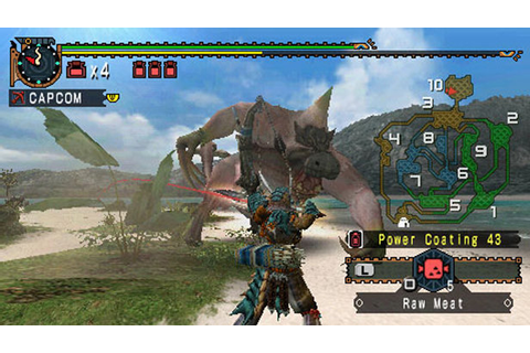 Monster Hunter Freedom 2 (USA) ISO