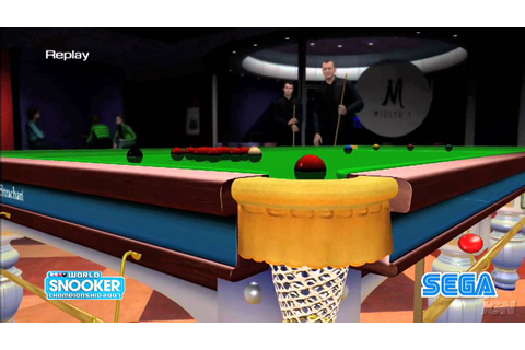 World Snooker Championship 2007 PlayStation 3 Trailer ...