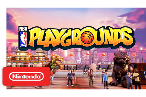 NBA Playgrounds Reveal Trailer - Nintendo Switch - YouTube