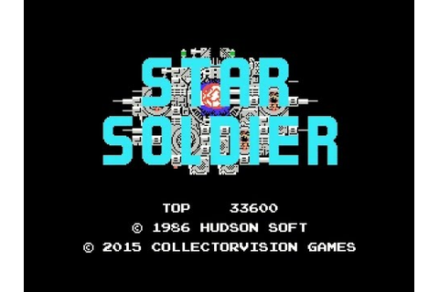 3 New ColecoVision Games - Star Soldier - Drol - SASA ...