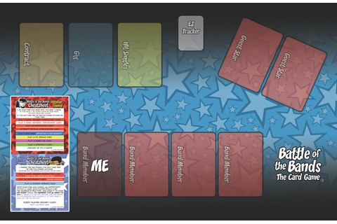 Battle of the Bands: The Deluxe Edition Card Game by dan ...