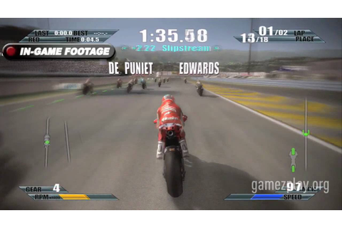 Moto GP 09/10 Grand Prix video game official trailer #1 ...