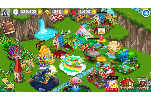 Download Dragon Story Country Picnic on PC with BlueStacks