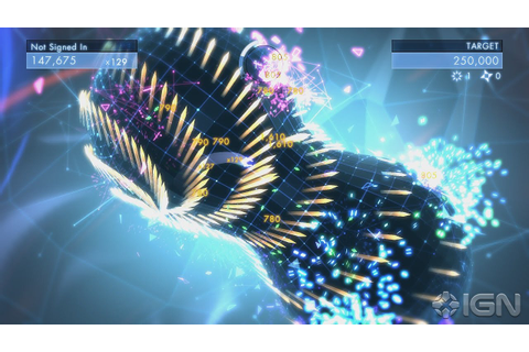 Geometry Wars 3: Dimensions Hands-On Preview - YouTube