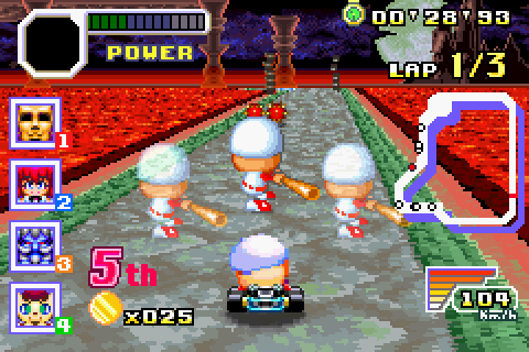 Konami Krazy Racers (Game Boy Advance) Review