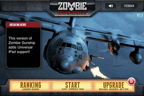 Limbic Zombie Gunship iOS Game Review – The Gadgeteer