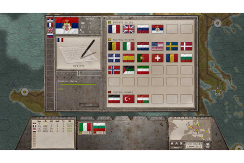Test de Commander : The Great War sur HistoriaGames