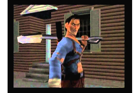 Evil Dead: A Fistful of Boomstick ps2 walkthrough part 1 ...