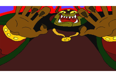 Ganon: Your Face & IT BURNS!!!!!! (Link: the Faces of Evil ...