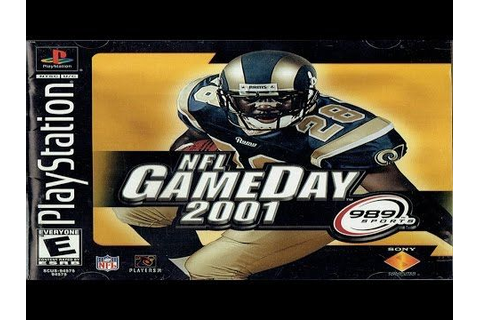 NFL GameDay 2001 Playstation Gameplay (989 Sports 2000 ...