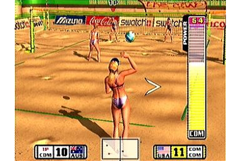 Screens: Beach Spikers: Virtua Beach Volleyball - GameCube ...
