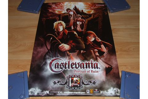 Castlevania Portrait Of Ruin | Video Game Posters | Flickr