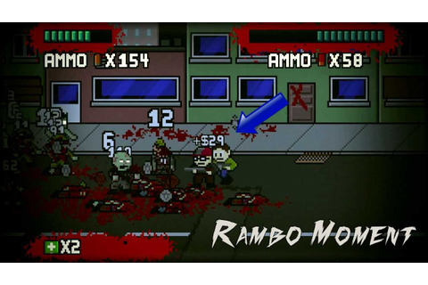 Dead Pixels Co-Op Indie Game Arnold and Rambo [1] - YouTube