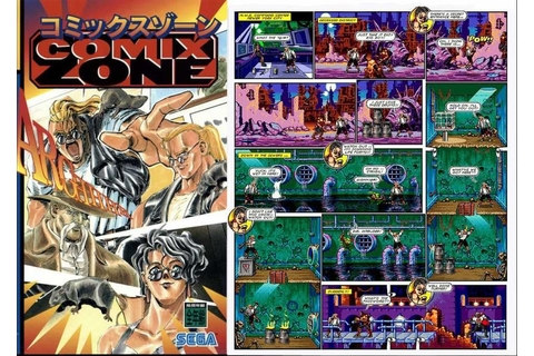 Comix Zone is a Sega game which places you in control of a ...